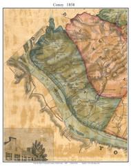 Conoy Township, Pennsylvania 1858 Old Town Map Custom Print - Lancaster Co.