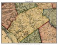 Drumore Township, Pennsylvania 1858 Old Town Map Custom Print - Lancaster Co.