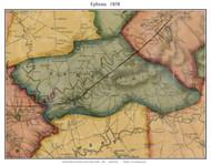 Ephrata Township, Pennsylvania 1858 Old Town Map Custom Print - Lancaster Co.