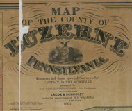 Title of Source Map - Luzerne Co., Pennsylvania 1864 - NOT FOR SALE - Luzerne Co.