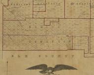 Hamlin Township, Pennsylvania 1856 Old Town Map Custom Print - McKean Co.