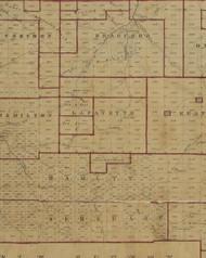 Lafayette Township, Pennsylvania 1856 Old Town Map Custom Print - McKean Co.