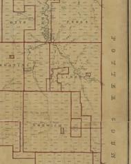 Liberty Township, Pennsylvania 1856 Old Town Map Custom Print - McKean Co.