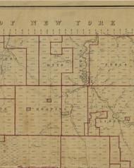 Otto Township, Pennsylvania 1856 Old Town Map Custom Print - McKean Co.