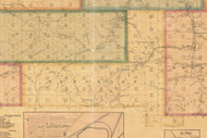 Sergeant Township, Pennsylvania 1871 Old Town Map Custom Print - McKean Co.