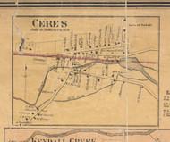 Ceres - McKean Co., Pennsylvania 1871 Old Town Map Custom Print - McKean Co.