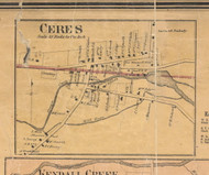 Ceres - McKean Co., Pennsylvania 1871 Old Town Map Custom Print - McKean Co.