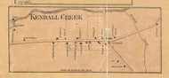 Kendall Creek - McKean Co., Pennsylvania 1871 Old Town Map Custom Print - McKean Co.