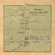 Port Alleghany - McKean Co., Pennsylvania 1871 Old Town Map Custom Print - McKean Co.