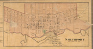 Smethport - McKean Co., Pennsylvania 1871 Old Town Map Custom Print - McKean Co.