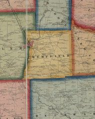 Hempfield Township, Pennsylvania 1860 Old Town Map Custom Print - Mercer Co.