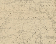 Whitpain Township, Pennsylvania 1849 Old Town Map Custom Print - Montgomery Co.