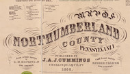 Title of Source Map - Northumberland Co., Pennsylvania 1858 - NOT FOR SALE - Northumberland Co.