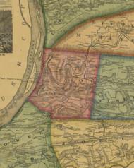 Jackson Township, Pennsylvania 1874 Old Town Map Custom Print - Northumberland Co.