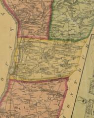 Turbut Township, Pennsylvania 1874 Old Town Map Custom Print - Northumberland Co.