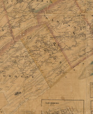 Jackson Township, Pennsylvania 1863 Old Town Map Custom Print - Perry Co.