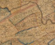 Juniata Township, Pennsylvania 1863 Old Town Map Custom Print - Perry Co.