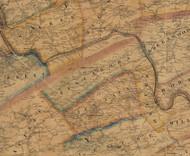 Tuscarora Township, Pennsylvania 1863 Old Town Map Custom Print - Perry Co.