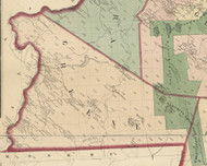 Greene Township, Pennsylvania 1872 Old Town Map Custom Print - Pike Co.