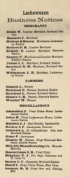 Lackawaxen Business Directory - Lackawaxen Township, Pennsylvania 1872 Old Town Map Custom Print - Pike Co.