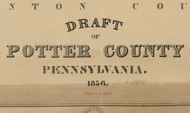 Title of Source Map -  Montgomery Co., Pennsylvania 1856 - NOT FOR SALE - Potter Co.