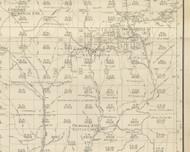 Abbott Township, Pennsylvania 1893 Old Town Map Custom Print - Potter Co.