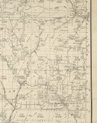 Hector Township, Pennsylvania 1893 Old Town Map Custom Print - Potter Co.