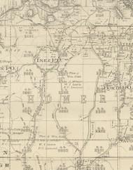 Homer Township, Pennsylvania 1893 Old Town Map Custom Print - Potter Co.