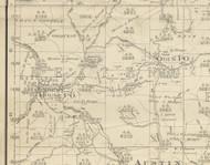 Keating Township, Pennsylvania 1893 Old Town Map Custom Print - Potter Co.