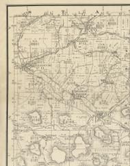 Sharon Township, Pennsylvania 1893 Old Town Map Custom Print - Potter Co.