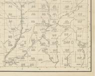 Stewardson Township, Pennsylvania 1893 Old Town Map Custom Print - Potter Co.