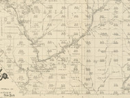 Wharton Township, Pennsylvania 1893 Old Town Map Custom Print - Potter Co.