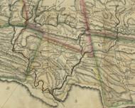 Brunswick Township, Pennsylvania 1830 Old Town Map Custom Print - Schuylkill Co.
