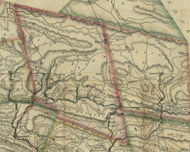Schuykill Township, Pennsylvania 1830 Old Town Map Custom Print - Schuylkill Co.