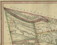 Upper Mahantango Township, Pennsylvania 1830 Old Town Map Custom Print - Schuylkill Co.
