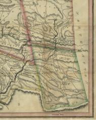 West Penn Township, Pennsylvania 1830 Old Town Map Custom Print - Schuylkill Co.