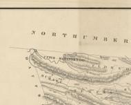 Upper Mahantango Township, Pennsylvania 1855 Old Town Map Custom Print - Schuylkill Co.