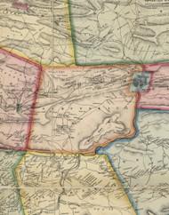 Schuylkill Township, Pennsylvania 1864 Old Town Map Custom Print - Schuylkill Co.