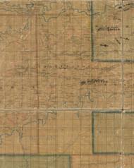 Charleston Township, Pennsylvania 1862 Old Town Map Custom Print - Tioga Co.