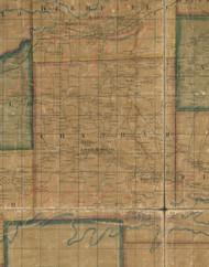 Chatham Township, Pennsylvania 1862 Old Town Map Custom Print - Tioga Co.
