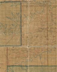 Delmar Township, Pennsylvania 1862 Old Town Map Custom Print - Tioga Co.
