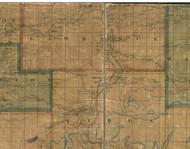 Lawrence Township, Pennsylvania 1862 Old Town Map Custom Print - Tioga Co.