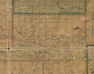 Middlebury Township, Pennsylvania 1862 Old Town Map Custom Print - Tioga Co.