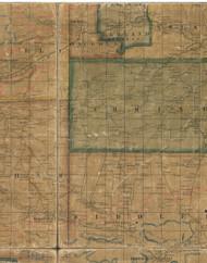 Osceola Township, Pennsylvania 1862 Old Town Map Custom Print - Tioga Co.