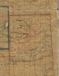 Sullivan Township, Pennsylvania 1862 Old Town Map Custom Print - Tioga Co.