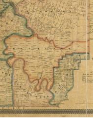 Richland Township, Pennsylvania 1857 Old Town Map Custom Print - Venango Co.