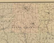 Sugar Grove Township, Pennsylvania 1882 Old Town Map Custom Print - Warren Co.