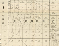 Eldred Township, Pennsylvania 1889 Old Map Custom Print - Warren Co.