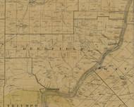 Deerfield Township, Pennsylvania 1900 Old Town Map Custom Print - Warren Co.