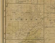 Eldred Township, Pennsylvania 1900 Old Town Map Custom Print - Warren Co.